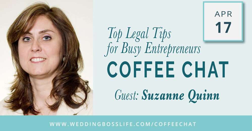 Suzanne Quinn on Wedding Boss Life