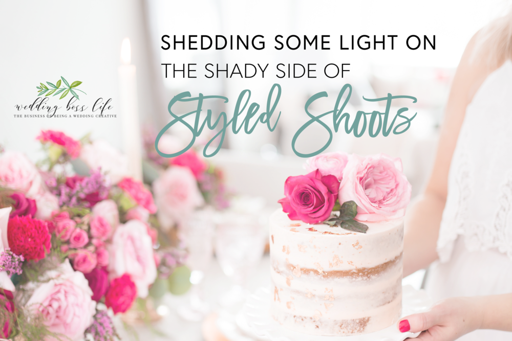 Shedding Some Light on the Shady Side of Styled Shoots