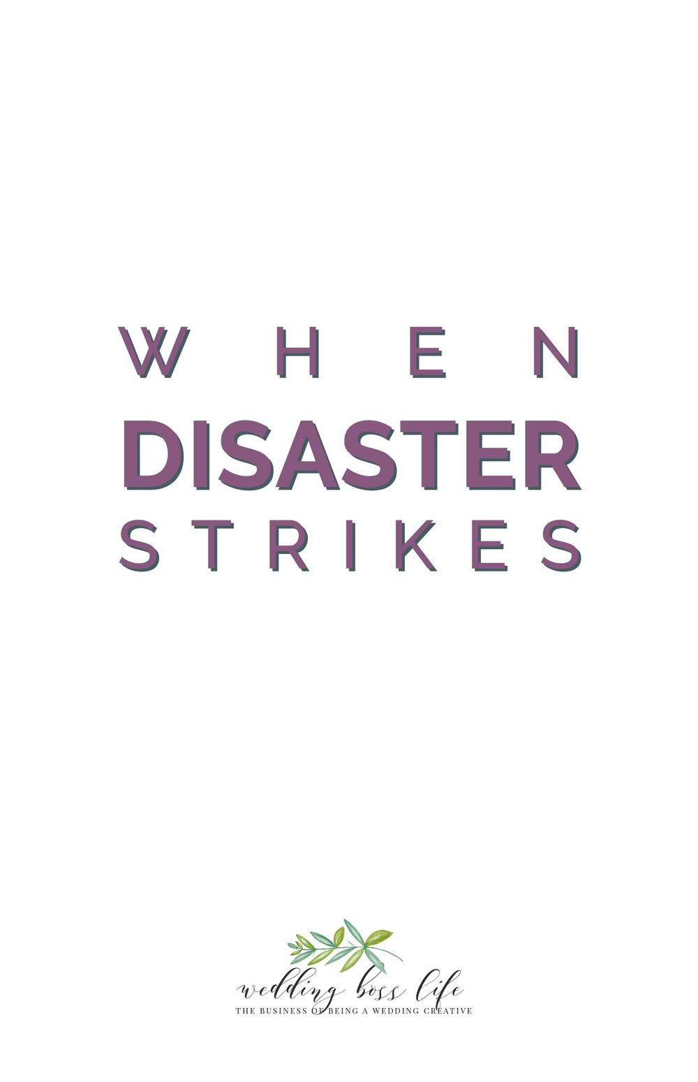 When Disaster Strikes - Is Your Business Prepared