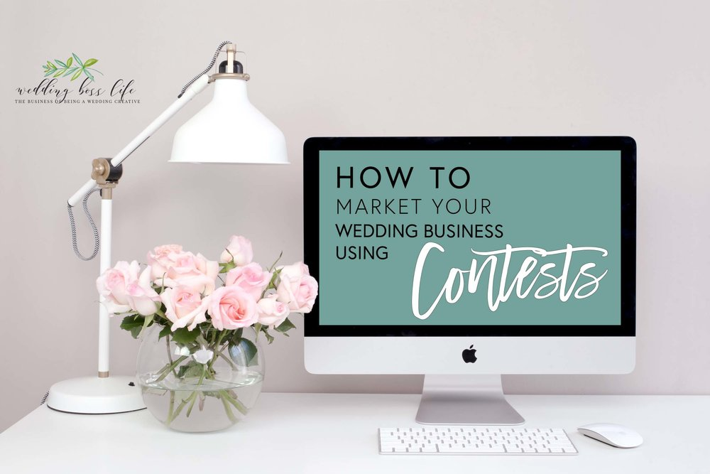 How to market your wedding business through contests
