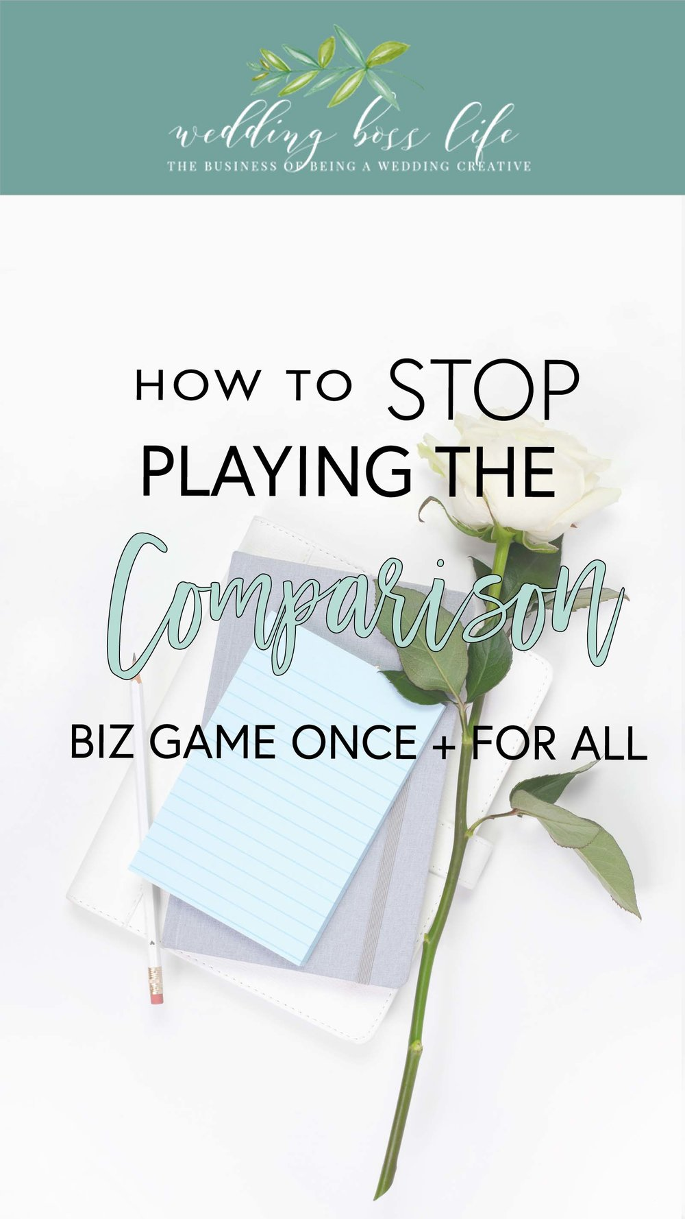 how to stop playing the Comparison game in your business