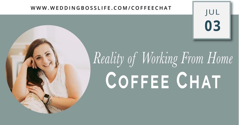 The reality of working from home as a wedding creative