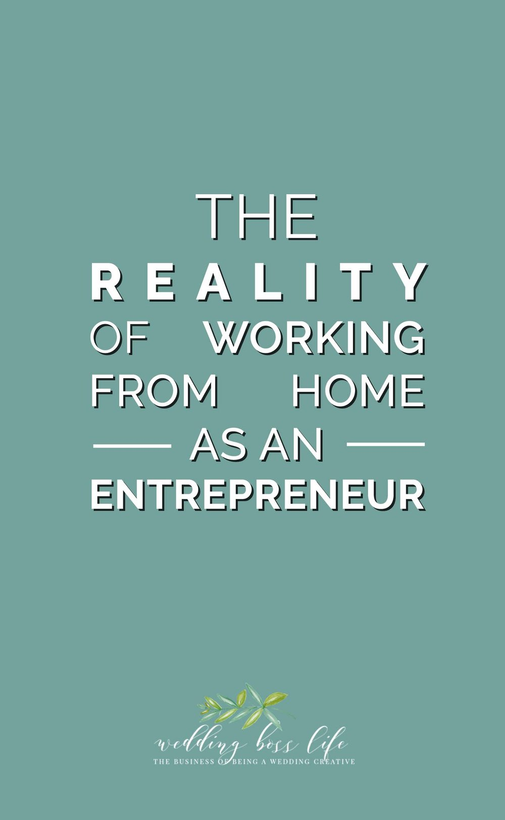 The realities of working from home as a small business owner