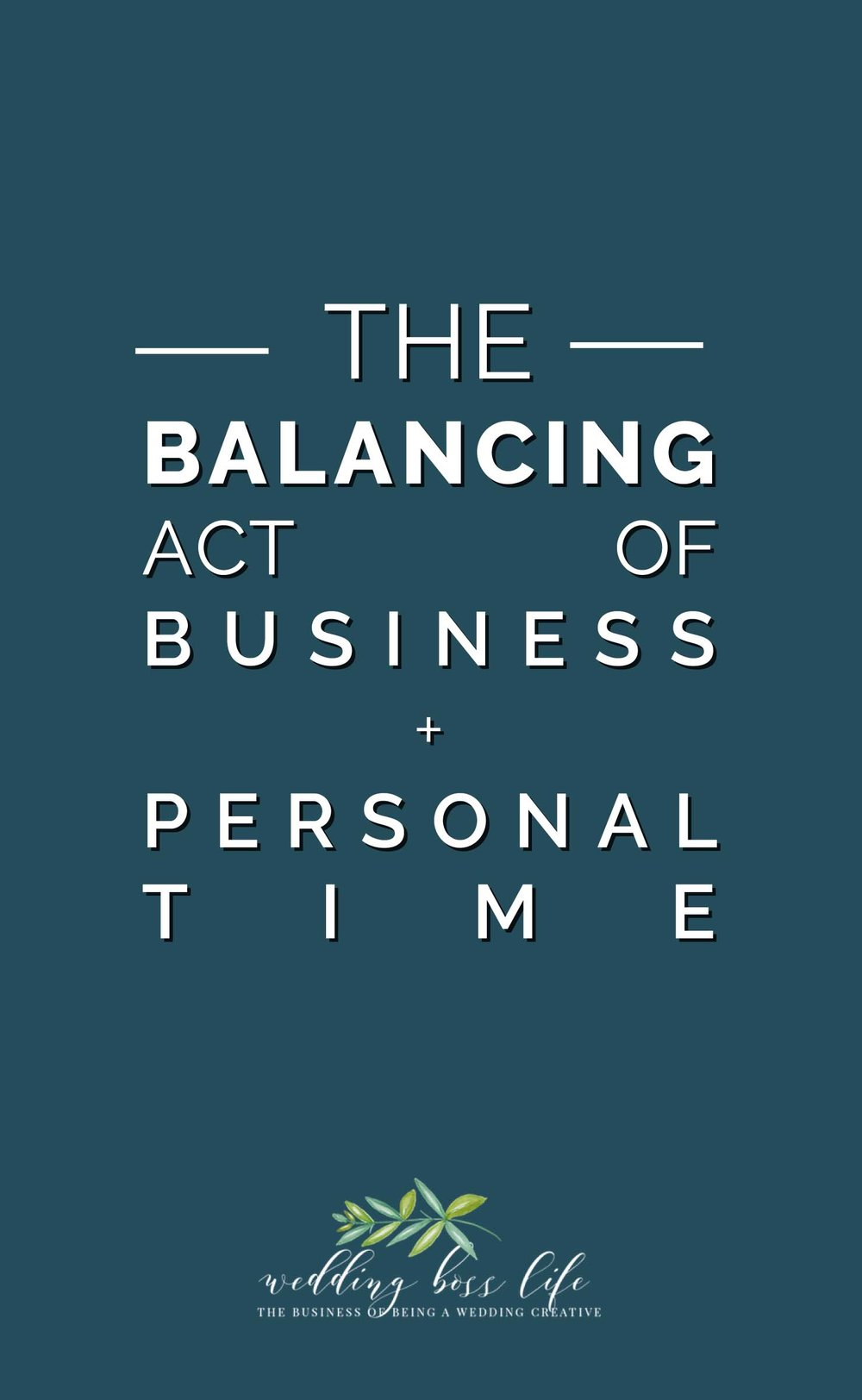 The 5 Crucial Ways You need to be balancing your time as an entrepreneur