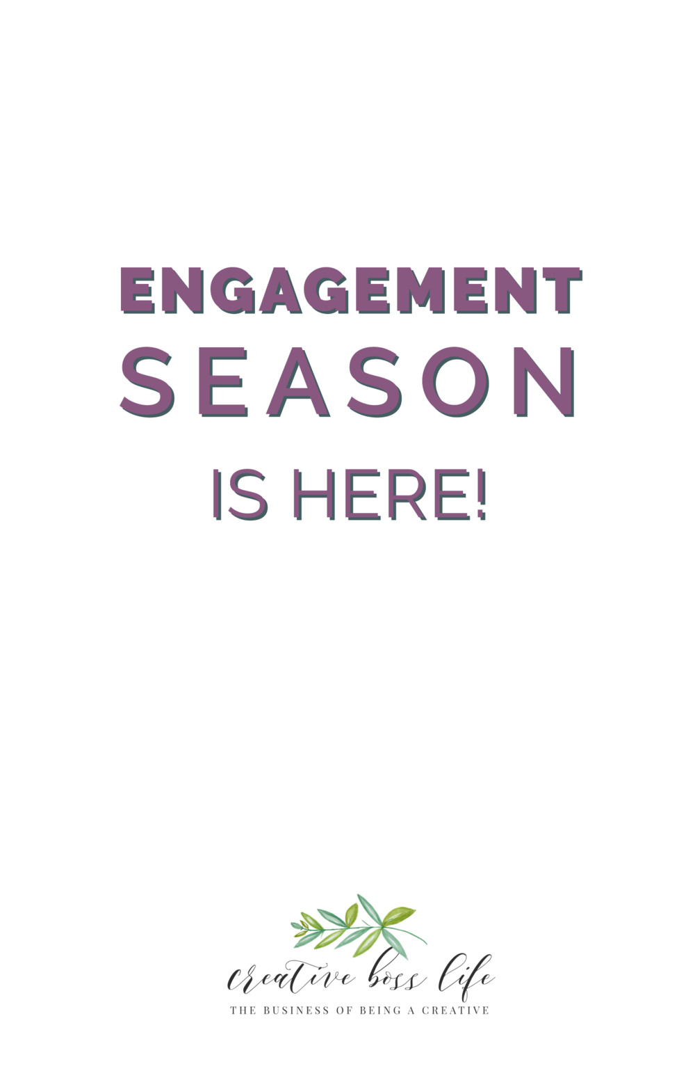 Engagement Season