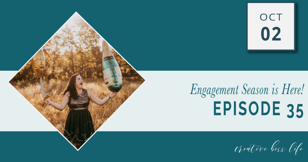 Engagement Season for Wedding Creatives