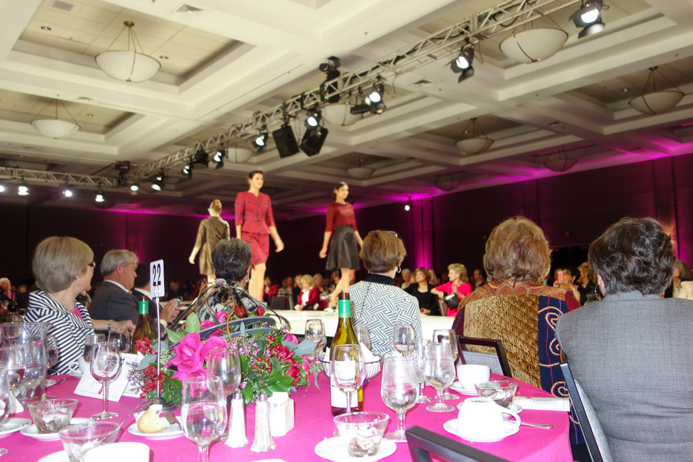 Las Candelas Benefit Fashion Show at the Los Angeles Marriott Hotel - Burbank Airport
