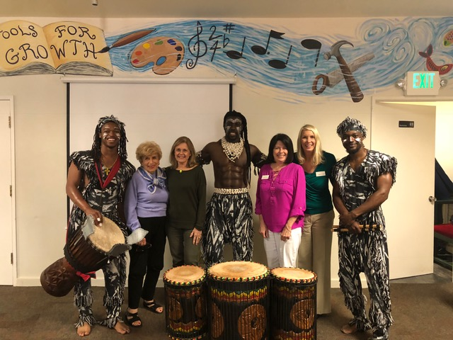 Hathaway Sycamore Assembly - African Drum and Dance