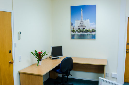 Shared Office Space Where You Can Hire A Desk For Small Fee
