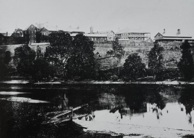 The Protestant Orphan School between 1870 and 80, view from the south east. (State Library of New South Wales, Government Printing Office 1 – 06131)