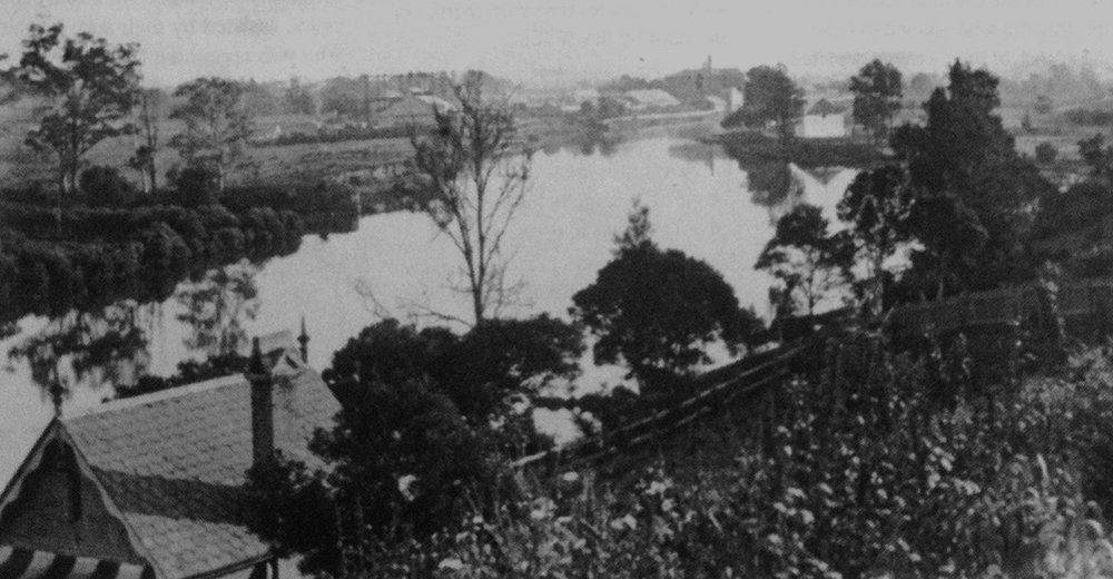 The view from Rydalmere Psychiatric Hospital, looking south west across the river. (State Records of New South Wales 4/8686.25)