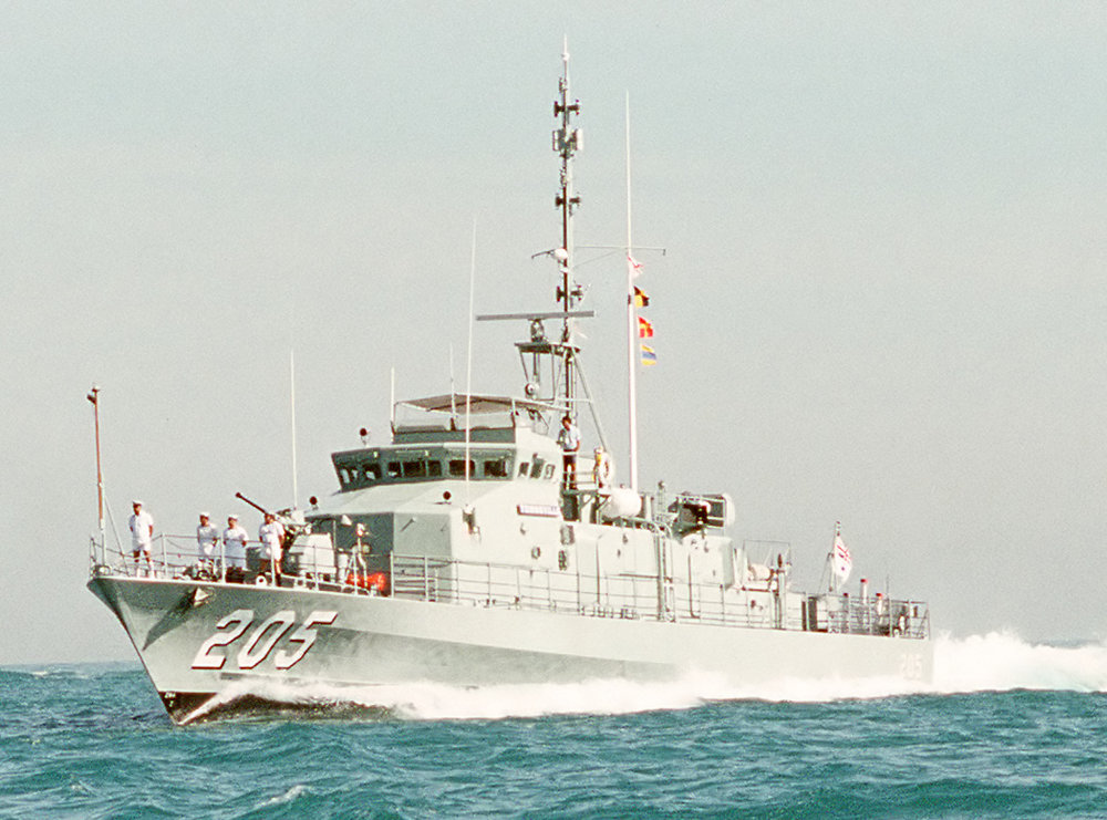 Fremantle class patrol boat