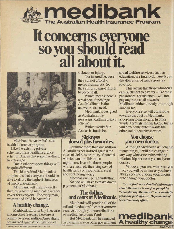 Medibank Advertisment 1975