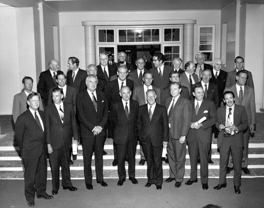 The 2nd Whitlam Ministry, shortly after being sworn in