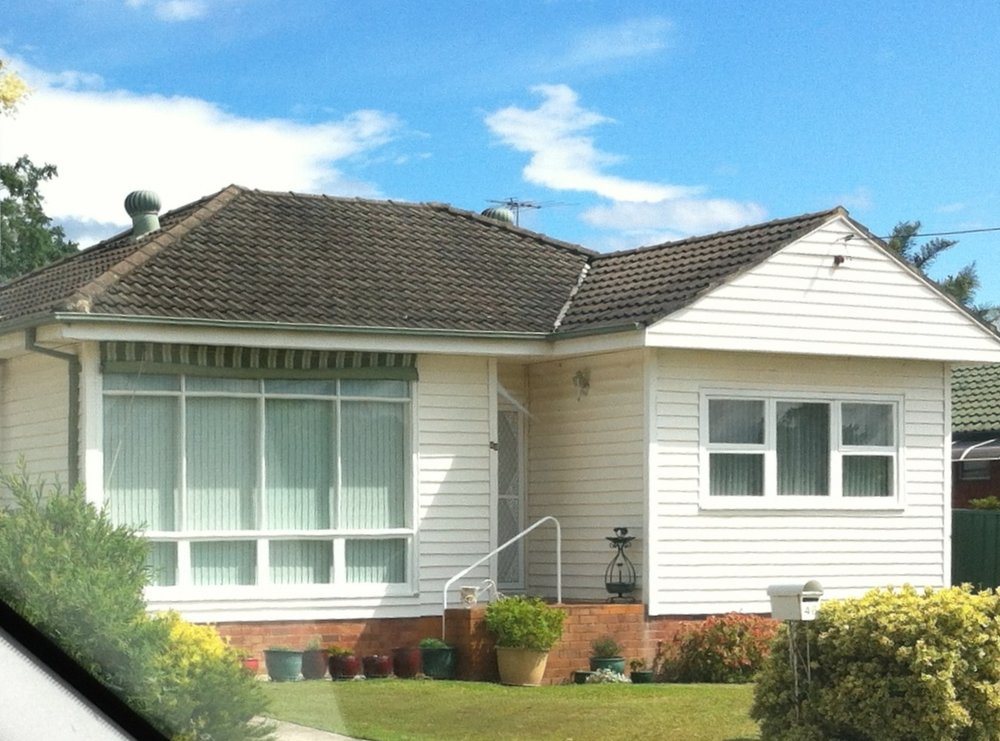 Werriwa electorate weatherboard home