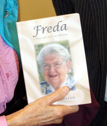 Freda: A biography of Freda Whitlam by Noelene Martin, published 2009.