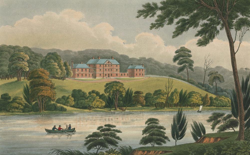 View of the Female Orphan School, near Parramatta, New South Wales , Joseph Lycett, 1825 Western Sydney University Art Collection