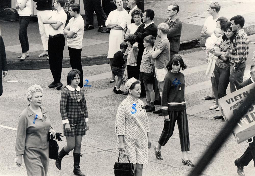May Day march Wollongong, 1966.