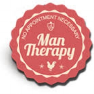 Man Therapy is a men's mental health campaign and a purpose-driven partnership whose mission is to reduce stigma, encourage self-awareness and promote self care among working-age men.
