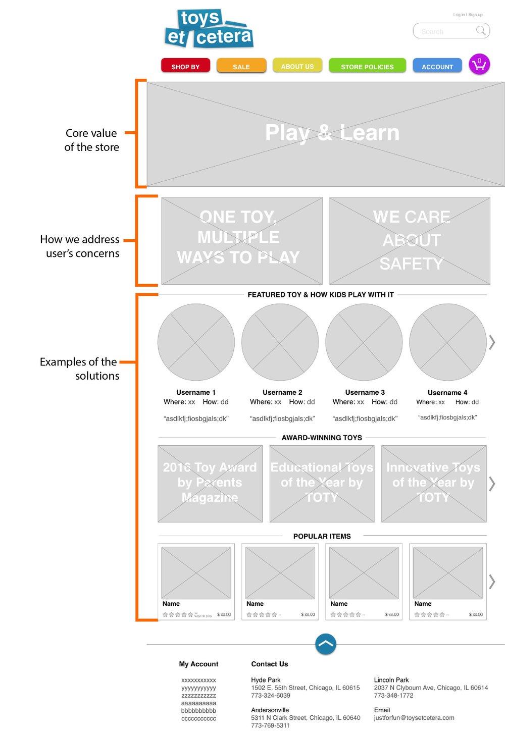 toys et cetera_home page