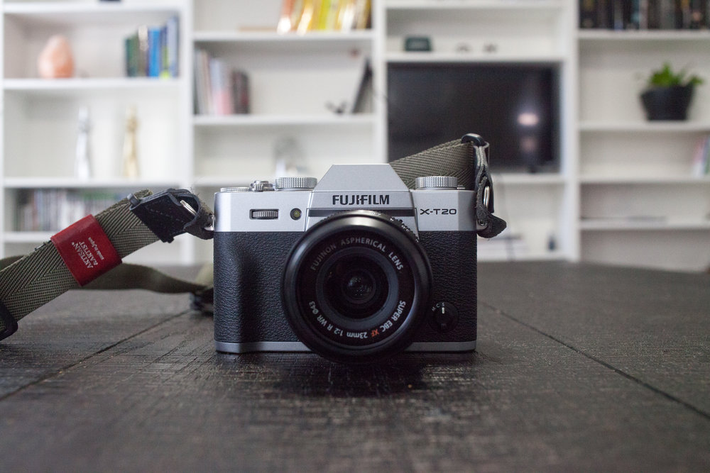 Fuji XT-20  with a  Fujinon 23mm F2.0 WR