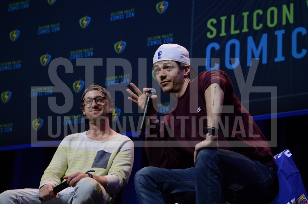 The Flash Panel featuring Tom Felton & Grant Gustin