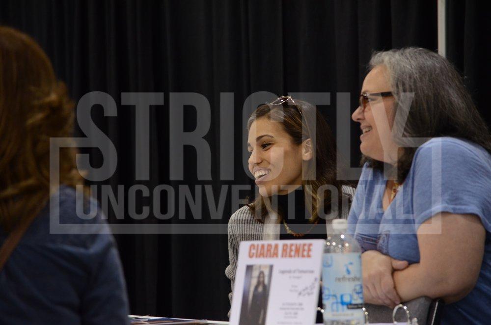 Ciara Renée talking to fans