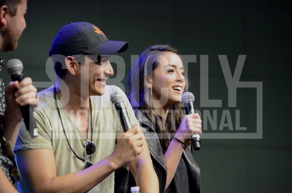 Chloe Bennet & Gabriel Luna