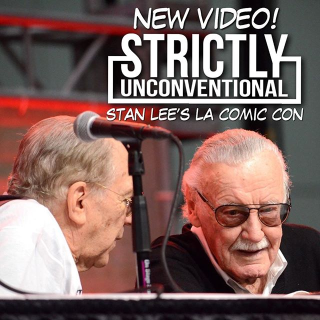 #StrictlyUnconventional attends #LAComicCon17 and we got a great video for you all! In the video, there's special footage from interviews with #JamesHong (Big Trouble in Little China, #KungFuPanda, #BladeRunner, #Mulan) & #CharletChung ( #Overwatch, #CallofDuty: Black Ops III), and panels from the convention, including, #ChloeBennet & #GabrielLuna and the man himself, #StanLee ! Check out the link in our bio for the episode and photos from the event! Thanks LA Comiccon for letting us cover the event! 'Til next year. ー #StrictlyUnconventional #Marvel #Deadpool #Comiccon #agentsofshield #quake #daisyjohnson #ghostrider #robbiereyes #comicconvention #comiccon