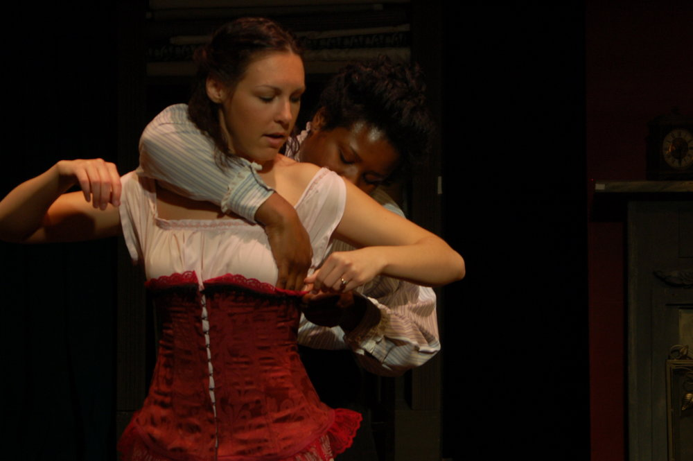 "Mrs. VanBuren in ""Intimate Apparel"""