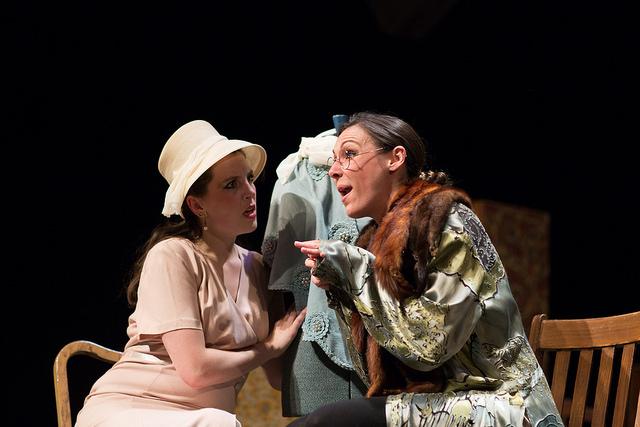 """Harriet/Miss Bates/Mrs. Elton in """"Jane Austen's Emma"""""""