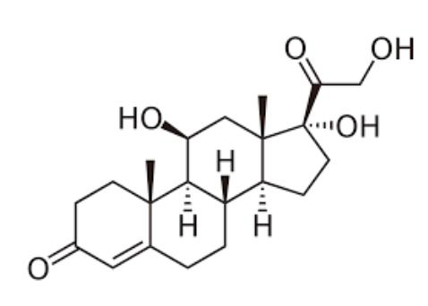 Cortisol molecule