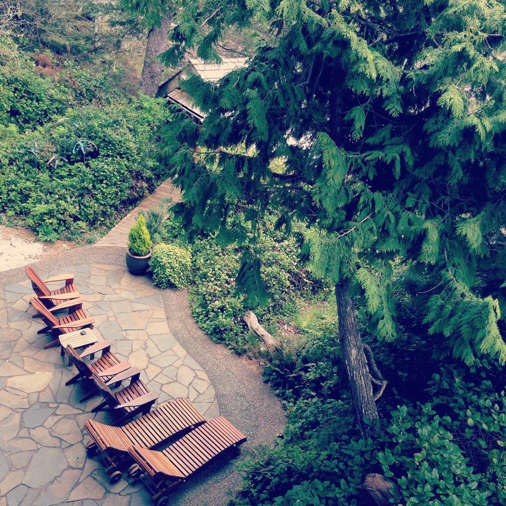 Ancient Cedars Spa, Tofino.