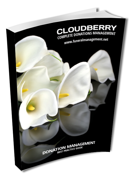 "- ""Cloudberry is one of SAIF's Associate Members and we support this very informative guide.  More than ever, transparency and robust operating protocols are paramount for donors to know that the funds donated by clients and their friends are kept securely and reach their intended recipient, as a tribute to those being remembered. Following this guide will ensure excellent working practices and safeguard your firm's credentials.""Terry Tennens MBA MThChief Executive, SAIF"