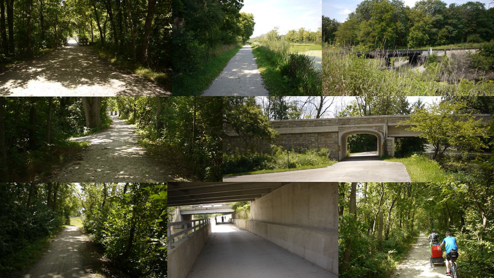 The I&M Canal Tow Path