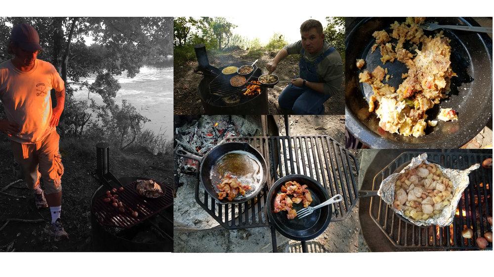 Our camp grub
