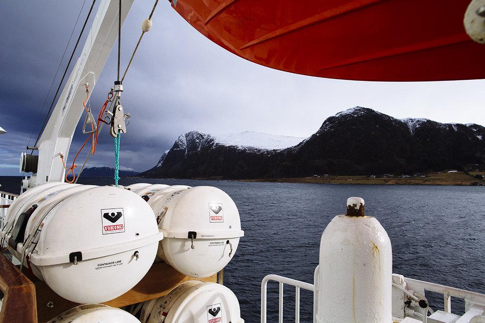 Hurtigruten Ferry, Coast of Norway