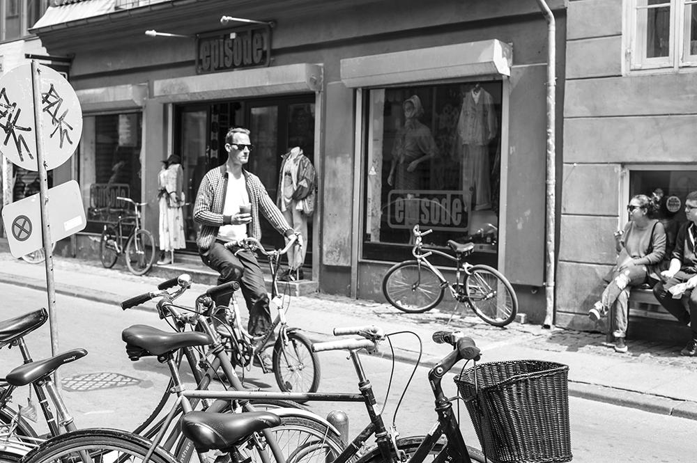 Bicycling in Copenhagen, 2017
