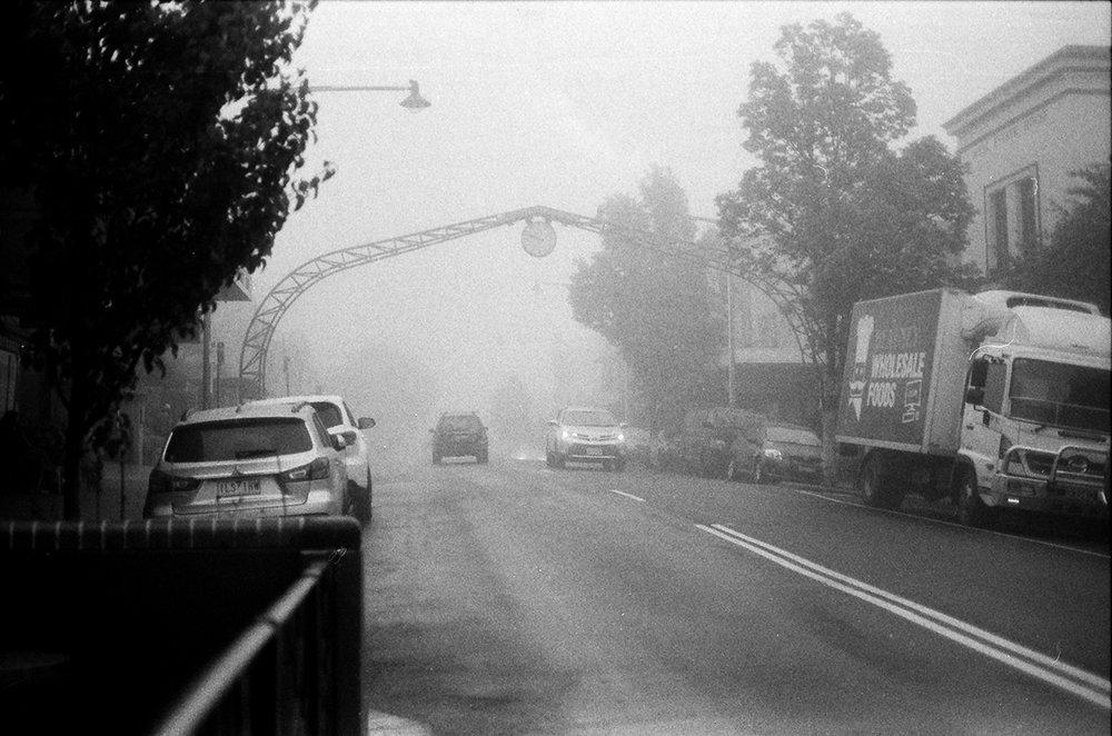 Katoomba, NSW, Morning Fog