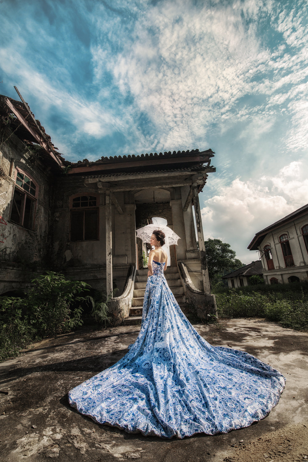 A really gorgeous piece of Jiebei at an old abandoned house.
