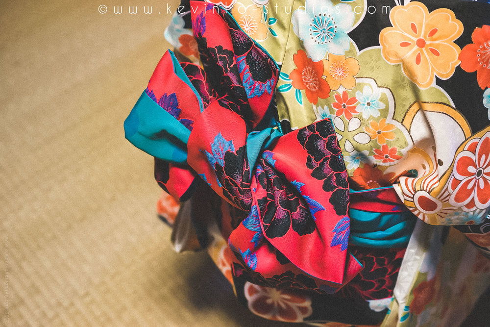 Fall in love with the Kimono's intricate details.