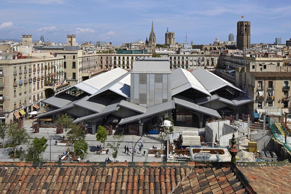 La Boqueria Market, Barcelona.