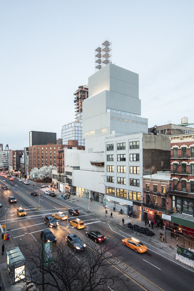 SANAA's New Museum, New York. Photo: Laurian Ghintoiu.