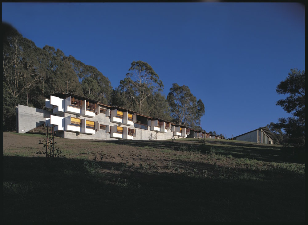 Arthur and Yvonne Boyd Education Centre, Riversdale. Photo by Anthony Browell.