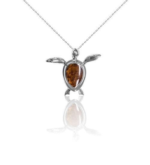 Wood watches larimar jewelry koa wood jewelry tungsten jewelry large honu pendant aloadofball Choice Image