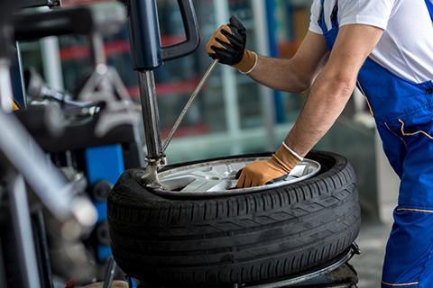 wheel balancing at JTyre