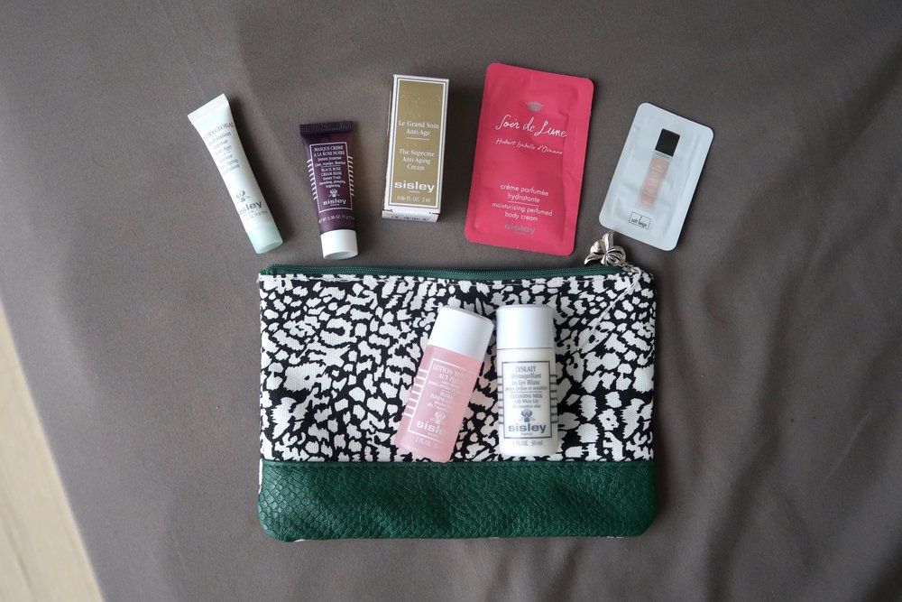 Sisley Free Samples Pouch