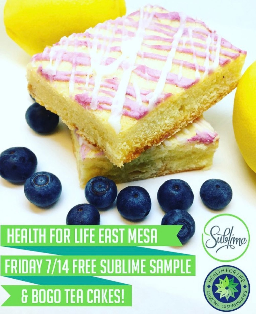 Sublime @ H4L East - Come meet the makers of your favorite edibles on July 14th!!