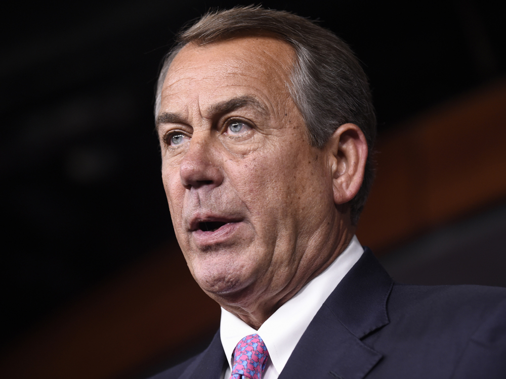 John Boehner is joining the advisory board of private U.S. cannabis company Acreage Holdings.AP Photo/Susan Walsh, File