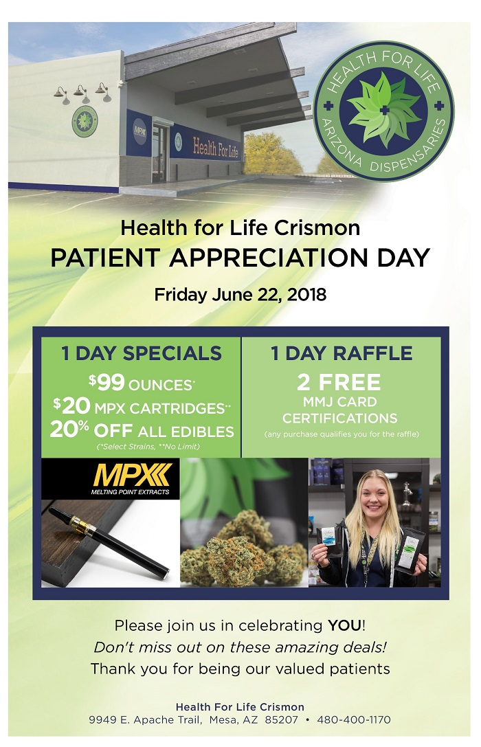 Health for life crismon patient appreciation day